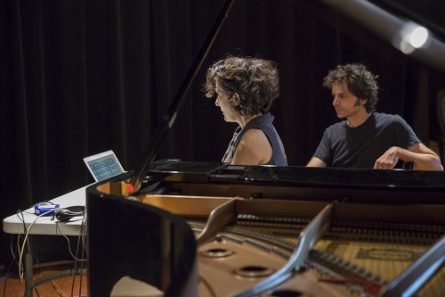 Eve Egoyan's residency - Photo © Marion Gotti