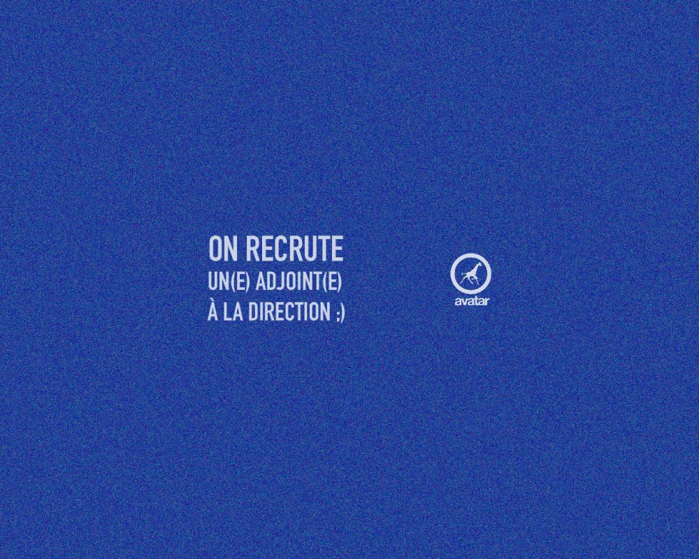 On recrute / PROLONGATION
